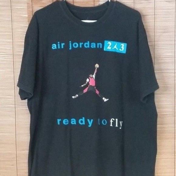 wholesale dealer dc041 ad725 AIr Jordan XL Basketball T- Shirt Chicago Bulls 23